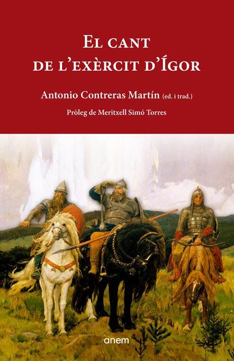 Portada El Cant de l'exèrcit d'Ígor